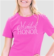 Flirty Maid of Honor T-Shirt
