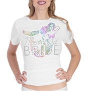 Mermaid Bride Iridescent Tee