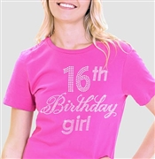 16th Birthday Girl T-Shirt
