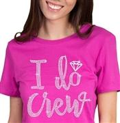 fe3b9dc5 Rhinestone T-shirts for the Bride, Bridal Party & Birthday Girl