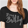 It's My Birthday Flowy T-Shirt