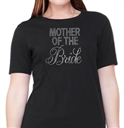 """Mother of the Bride"" Rhinestone T-Shirt"