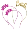 Set of 3 Bride & Team Bride Headbands