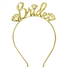 Gem Bride Gold Headband
