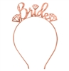 Gem Bride Rose Gold Headband