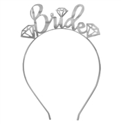Gem Bride Silver Headband