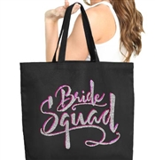 Bride Squad Large Canvas Tote | Gifts for the Bridal Party