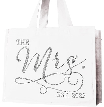 The Mrs. Large Canvas Tote
