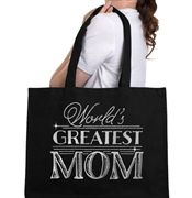 World's Best Mom Large Tote | Mother's Day Gift Ideas