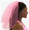 Perfect Electric Pink Veil